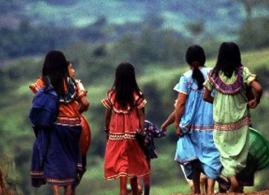 indigenous girls from back
